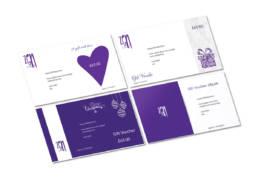 Zen Lifestyle gift card designs