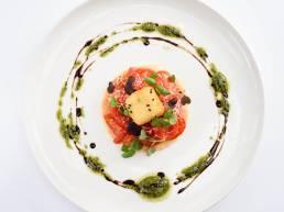 Salmon platter from Stones restaurant gift voucher system