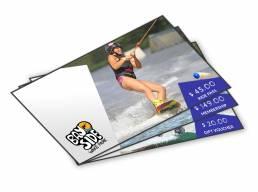 Vouchercart voucher designs for Bayside wake park