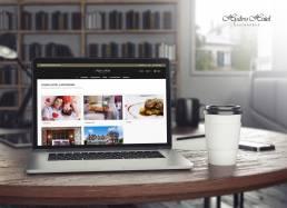 Hydro hotel voucher sales page mockup