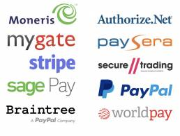 Payment gateways used with VoucherCart
