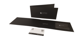 Presentation wallet and vcCard Gift Card