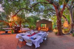 Tented Adventures Camp Dining